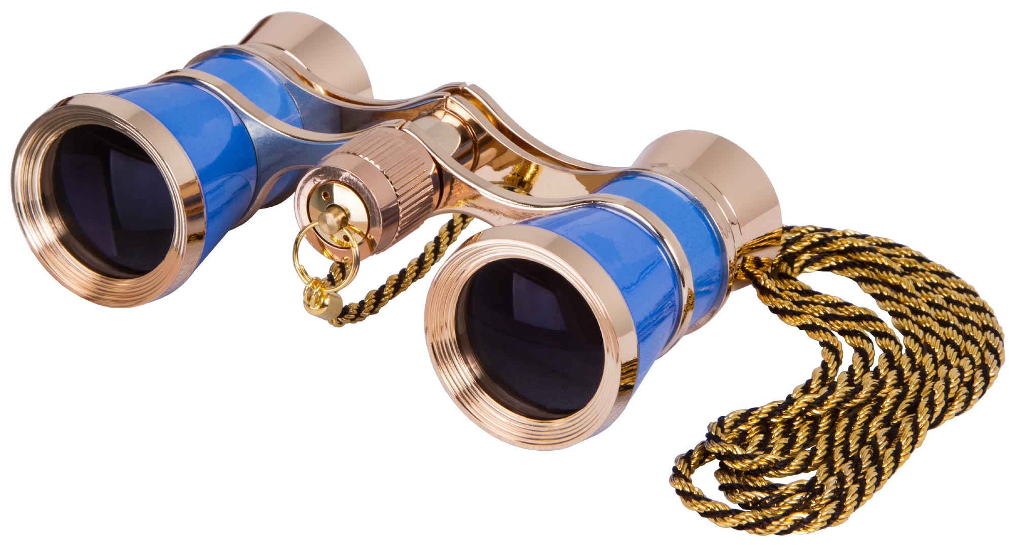 Levenhuk Broadway 325C Blue Wave Opera Glasses with a chain illustration