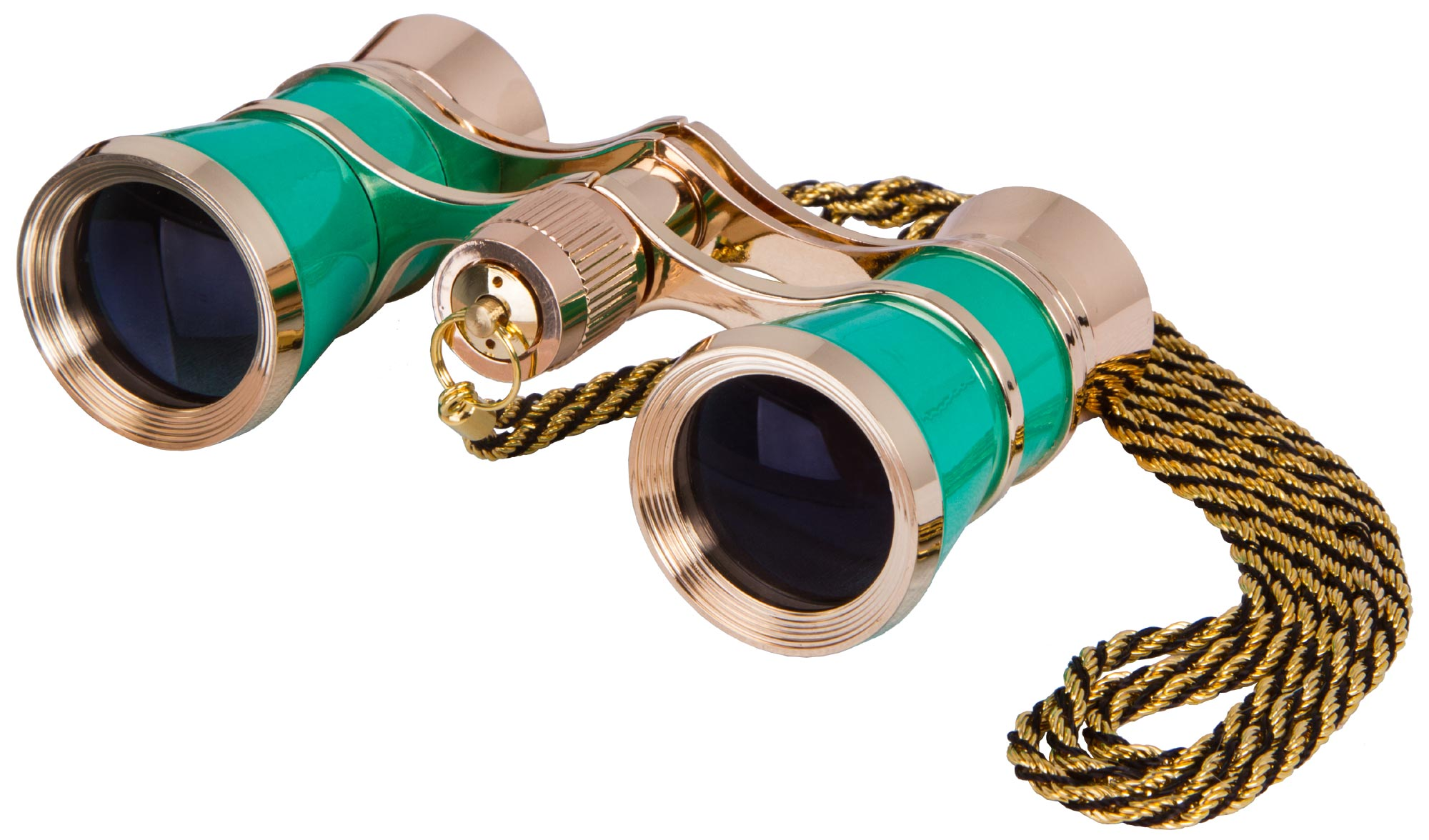 Levenhuk Broadway 325C Blue Wave Opera Glasses with a chain picture
