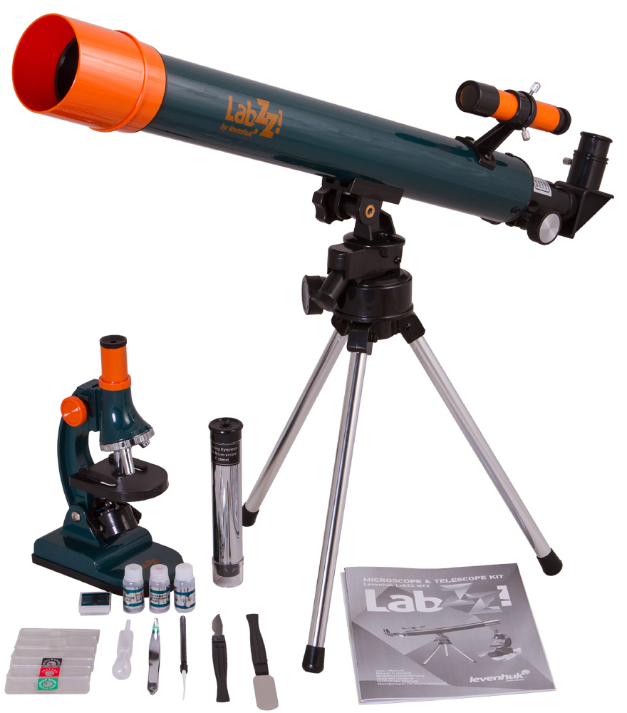 Levenhuk LabZZ MT2 Microscope & Telescope Kit - Exhibition Item image