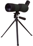 Levenhuk Blaze BASE 50 Spotting Scope An angled eyepiece. Magnification: 15-45x. Objective lens diameter: 50 mm