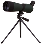 Levenhuk Blaze BASE 60 Spotting Scope An angled eyepiece. Magnification: 20-60x. Objective lens diameter: 60 mm