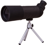 Levenhuk Blaze BASE 60F Spotting Scope An angled eyepiece. Magnification: 10x. Objective lens diameter: 60 mm